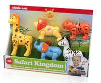 Игровой набор ДИКИЕ ЖИВОТНЫЕ Kiddieland (054106)