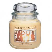 """Ароматическая свеча в стекле Village Candle """"Вечеринка на пляже"""". 455 гр/ 105 часов"""