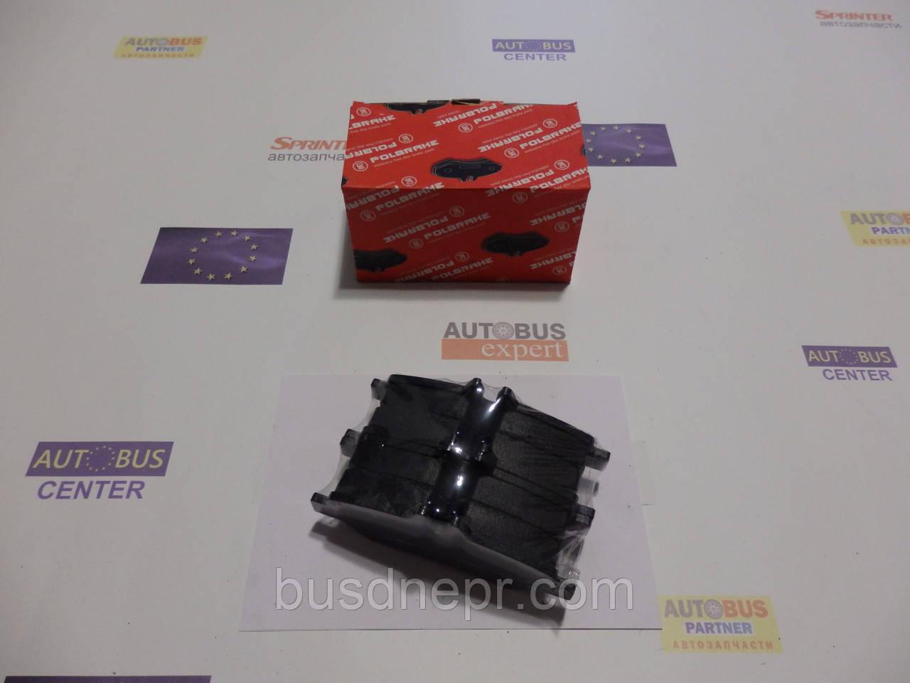 Тормозные колодки, задние (не спарка), MB Sprinter, VW Crafter 06- POLBRAKE PB29190