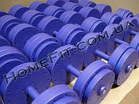 Гантельный ряд 6кг-50кг (шаг 2 кг, 23 пары) + возможность поштучной покупки