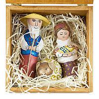 Шопка скульптурна №06 Мария и Иосиф