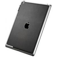 Чехол Защитный скин SGP Premium Cover Skin Deep Black Leather for new iPad 4G LTE / Wifi (SGP08860)