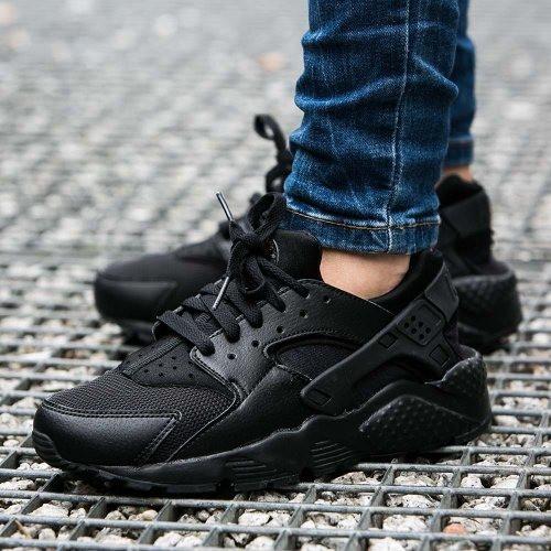 Кроссовки Nike Huarache Run GS Black 654275-016 (Оригинал)