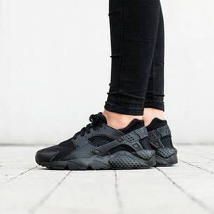 Кроссовки Nike Huarache Run GS Black 654275-016 (Оригинал), фото 2