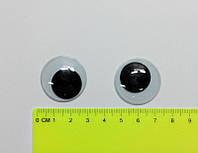 """Глазки для игрушек """"бегающие"""", №23."""