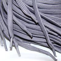 Шнурок 10 мм плоский светло серый 150 см