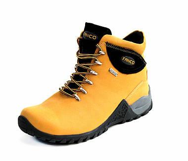 Ботинки женские Fanco Natural yellow black АКЦИЯ -10%, фото 2
