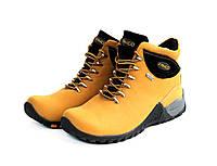 Ботинки женские Natural Fanco yellow black АКЦИЯ -52%
