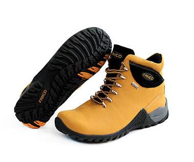 Ботинки женские Fanco Natural yellow black АКЦИЯ -10%, фото 3