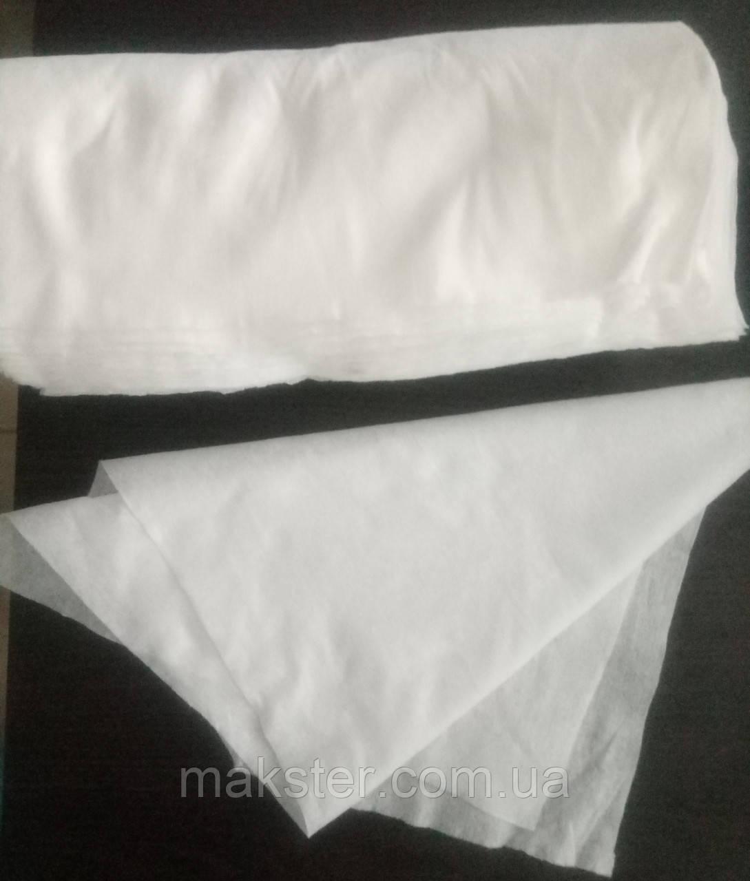 Одноразовое полотенце, 40х70, 100шт.