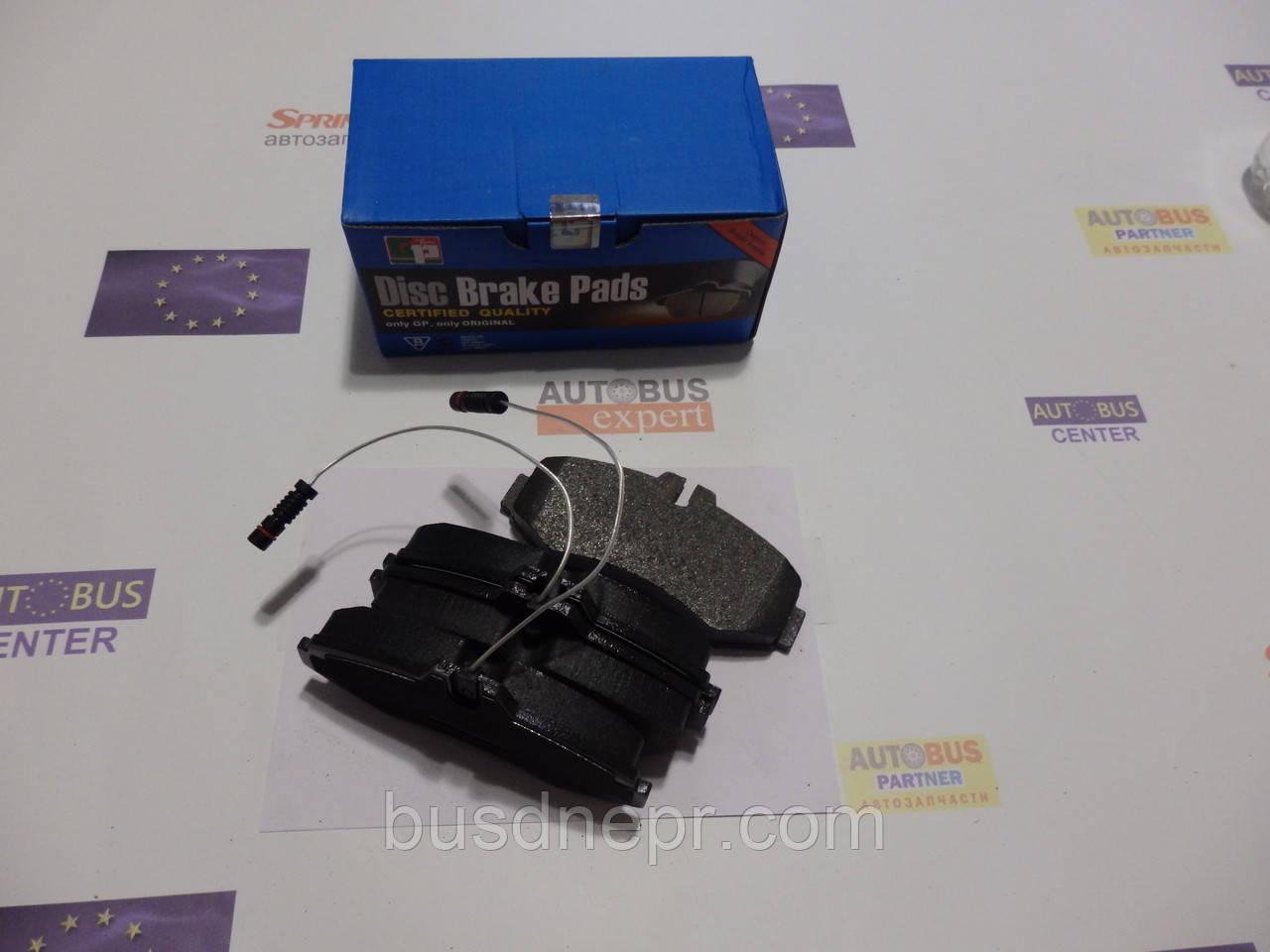 Тормозные колодки, передние MB Vito 638 96-03 т.с. Bosch пр-во GP Group 10.1304