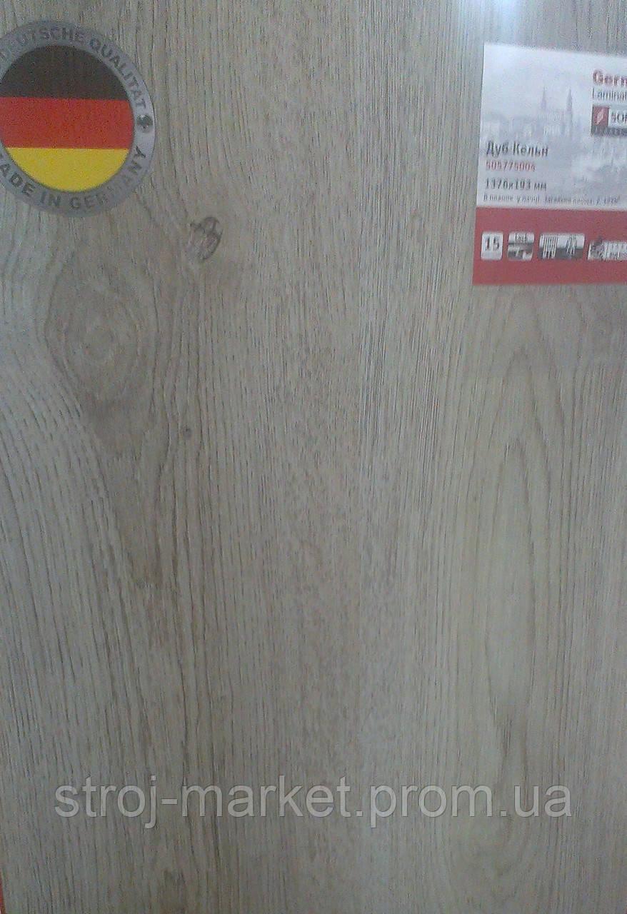 Ламинированный пол Sommer/Tarkett Германия, 32 кл., 8 мм, Дуб Кельн - «Строймаркет» — Гипсокартон, Теплоизоляция, Сотовый поликарбонат, Подвесной потолок в Одессе
