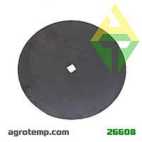 Диск ЛДГ (кв.31 мм.) 6мм. ВА-01.431