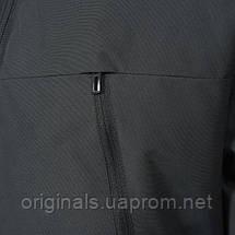 Зимняя куртка мужская с капюшоном Adidas Filled Fur-Trim AP9551 черная, фото 3