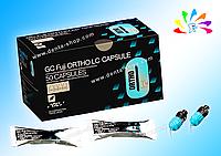 FUJI ORTHO LC, светоотверждаемый стеклоиономерный цемент для фиксации брекетов (50 капсул)