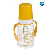 Бутылочка для кормления Canpol Babies с ручкой 120 мл BPA Free (11/821)