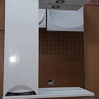 Зеркало для ванной комнаты со шкафчиком 60 см