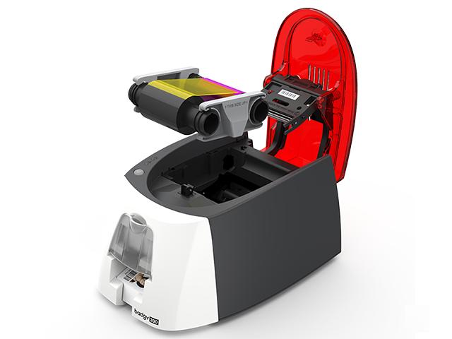 Принтер печати пластиковых карт Evolis Badgy 200