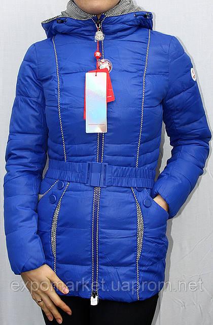 Куртка пуховик короткая женская