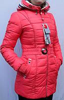 Куртка-пуховик женская зимняя Macka Angel (утеплитель - холлофайбер), фото 1