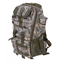Рюкзак Туристический нейлон Innturt Middle A1020-2 camouflage, рюкзак качественный на охоту