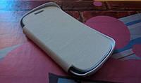 Чехол для Samsung Galaxy Fame S6810 книжка белый