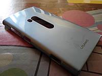Чехол для телефона Nokia Lumia 920 PL серый металлик