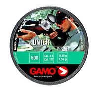 Пули Gamo Hunter 0,49 500 4,5 мм Круглоголовые пули. Пули для пневматики. Пули Gamo Hunter, круглые. 500 шт