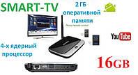 Приставка Smart TV Android TV BOX CS918 2GB ОЗУ 16GB  Смарт ТВ