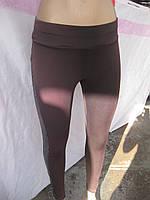 Лосины женские с карманами ЭКО - кожа