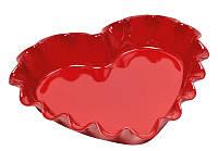Форма для запекания Emile Henry 33*28,5 см красная 346177