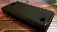Чехол для телефона Fly IQ459 Pronto TPU черный