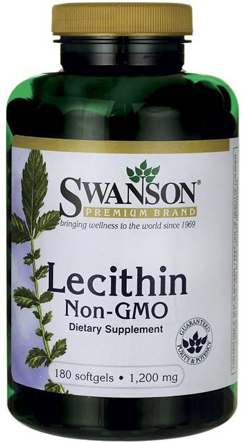 Swanson Lecithin 180 softgels