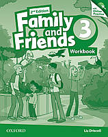 Family & Friends 2E: 3 Workbook & Online Practice Pack