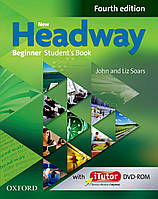 New Headway 4th Ed Beginner Student's Book and iTutor Pack