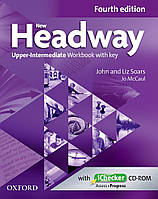New Headway 4th Ed Upper-Intermediate: Workbook with Key and iChecker CD Pack