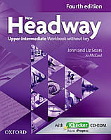 New Headway 4th Ed Upper-Intermediate: Workbook without Key and iChecker CD Pack