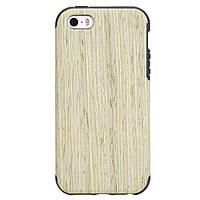 Чехол для iPhone 5 5S SE Rock Grained дерево, фото 1