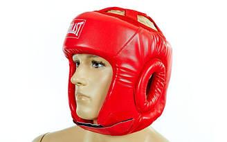 Шлем боксерский EVERLAST открытый р. регулируемый