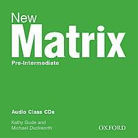 New Matrix Pre-Int: Class CDs