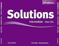 New Solutions intermediate class audio CD
