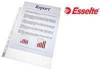 Файлы матовые A4 Esselte, 40 мик., 100 шт.16690