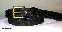 Ремень Кожаный плетёный Tony Perotti