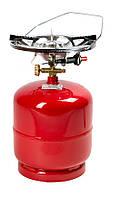 "«Rudyy®» Газовый комплект Rk-3 (2.6kw/пьезо) ""Пикник-Italy"" 8 литров + пьезо"
