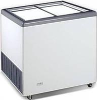 Морозильна скриня (лар) з прямими розсувними стулками CRYSTAL EKTOR 36 SGL (Греція)