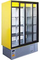 Шафа демонстраційна холодильна АЙСТЕРМО ШХС-0.8 з склопакетом (Україна)