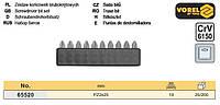 Набір біти насадки PZ2х25 мм CrV 10 шт VOREL-65520