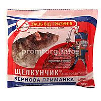 Зерновая приманка от мышей и крыс «Щелкунчик» с ароматом арахис-карамель 120гр