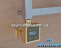 Золотой электроТЭН KTX3 MS квадратный + маскировка: экран + регулятор +таймер суточный.  Мощность: 120-1000Вт.