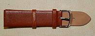 22 Ремешок кожа Torino (Италия) Светло-коричневый гладкий без строчки